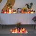 A mernyei általános iskolában gyertyákat is gyújtottak a meggyilkolt fiú emlékére
