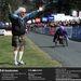 Sir Jimmy Savile megint jótékonykodik: egy kerekesszékes versenyzőnek drukkol Balmoralban 2001-ben.