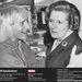 Jimmy Savile és Margaret Thatcher a Stoke Mandeville kórházban, Buckinghamshire-ben. Thatcher már biztos nem büszke a képre.