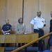 Öt helyszínelő rendőrt is meghallgattak.
