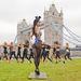 A London Bridge előtt is edzettek egy kicsit.