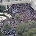 Szemtanúk szerint legfeljebb 3-6 ezren mentek az ünnepélyes átadásra