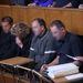 Az áldozatok szomorú hozzátartozói, és képviselőjük, Hantos Ádám ügyvéd.