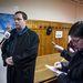 T. Gábor védőügyvédje az ítélethirdetés előtt bejelentette, hogy védence a tárgyalást megelőző éjjel agyvérzést kapott, jelenleg gépek tartják életben