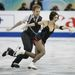 Nathalie Pechalat és Fabian Bourza a francia csapat reménységei.