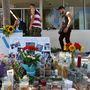 Még mindig gyűlnek a mécsesek és a virágok a gyilkosságok helyszínén
