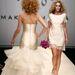 Makány Márta egyik specialitása az esküvői ruha