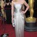 Kate Winslet fémesen csillogó Yves Saint Laurent-dresszében.