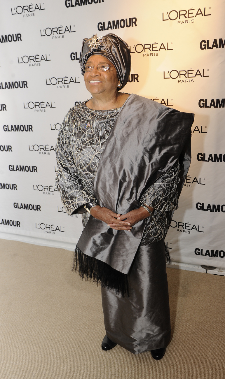 Ellen Johnson Sireleaf, Libéria elnöke