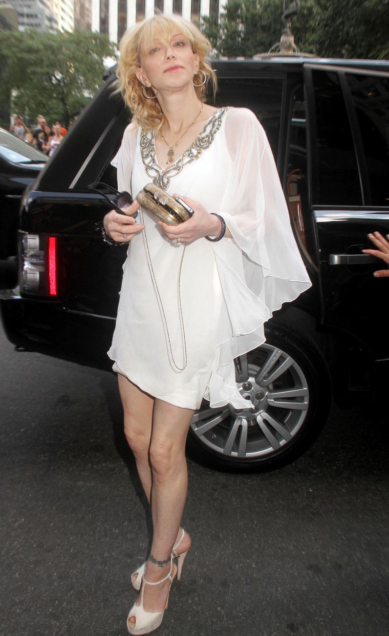 Courtney Love a Marchese bemutatóján