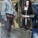 Forgatási fotók Kristen Stewart Hófehérkéjéről - partnere Chris Hemsworth lesz a vadász szerepében