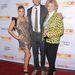 Fergie, férjével és anyósával