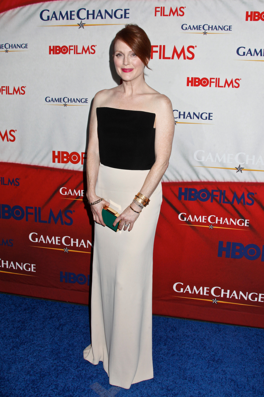 Julianne Moore a Golden Globe-kiosztón