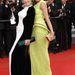 Jane Fonda és Freida Pinto a Cannes-i filmfesztiválon a vörös szőnyegen