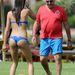 Elisabetta Gregoraci focizik a haverokkal Szardínián