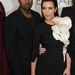 Kanye West és Kim Kardashian - Párizsi Divathét - Stephane Rolland haute couture bemutató