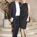 Antoine Arnault és Natalia Vodianova - Párizsi Divathét -  Christian Dior haute couture bemutató