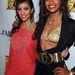 Kardashian megszeppent gimisként pózol Claudia Jordannel utóbbi születésnapján