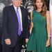 Donald és Melania Trump a Sötét lovag - Felemelkedés premierjén
