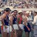1960-ban a római olimpián ilyen fejfedőket viseltek a hosszútávfutók