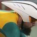 Még mindig Athén: nem csak a körmök voltak divatosak, hanem a szakállak is. A képen az ausztrál Sean Eadie kerékpáros
