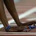 Még egy adag köröm Athénból. Ezek az amerikai Gail Devers tartoztak, aki éppen a 100 m-es gátfutás rajtjára készült
