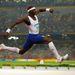 És a végére Peking egyik legextrémebb külsejű olimpikonja: a brit Phillips Idowu, hármasugró