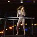 A Spice Girls tagjai közül Mel B viselt egy hasonló kosztümöt, csak neki nagyobb a melle