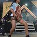 Rihanna forrónadrágban június 24-én