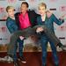 David Hasselhoff és a kétszeres Eurovízió-induló Jedward-ikrek