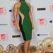 Alicia Keys zöldben a vörös szőnyegen