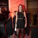 A Marie Claire Fashion Days-en kis feketében nézett bemutatókat a modell