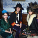 Le Nouveau Monde jelmezbál 2012. december 20-án - Thomas a Le Sparksból két ismeretlen vendéggel