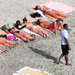 P. Diddy Saint-Barthélemy szigetén strandol, hölgytársaságban