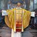 A tisztelendő úr a két brit protestáns felekezetből 1972-ben alakult Egyesített Református Egyházban volt lelkész