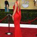 Maria Menounos tévés személyiség is vörösben volt menő
