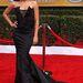 Naya Rivera, azaz a bevállalós Santana Lopez a Gleeből. Bevállalta a dekotázst