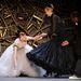 2008., New York, Zac Posen divatbemutató, a modell neve Karen Elson, még P. Diddy is megpróbál neki segíteni
