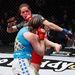 Még egy döbbenetes fotó az Alexis Davis (fekete trikóban) vs Sarah Kaufman (kék trikóban) meccsről