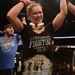 Ronda Rousey ünnepli győzelmét