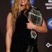 Ronda Rousey a győzelem utáni sajtótájékoztatón
