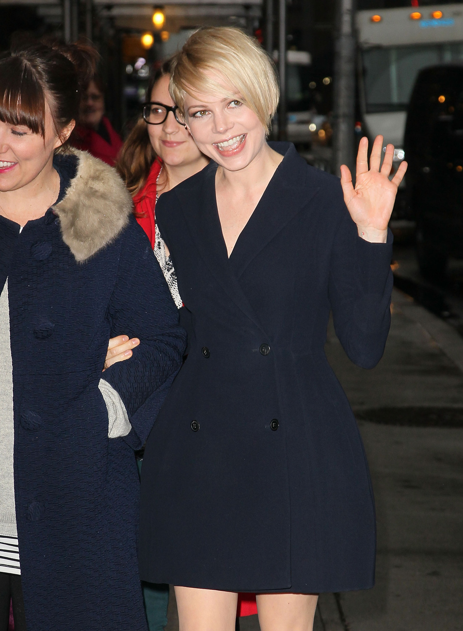 A három színésznő az Óz, a hatalmas londoni premierjén