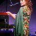 Tori Amos 2003-as New York-i koncertje előtt próbál