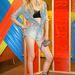 Andrej Pejic a Coachella fesztiválon pózol
