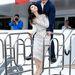 Fan Bingbing a Skiptrace című film kapcsán tartott fotózáson Cannes-ban Jackie Channel