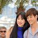 Lanshan Lao és Meng Li egy fotózáson – szépek és fiatalok