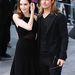 London: Angelina Jolie és Brad Pitt feketében