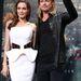 Berlin: Angelina Jolie fehérben és Brad Pitt feketében