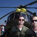 Martin (b) és Robert (j) a Szlovák Légierő pilótái, 37 és 43 évesek, MI-17-es típusú szállító-mentőhelikopteren repülnek