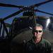 Joze a Szlovén Légierő pilótája, 53 éves, Bell-412-es típusú helikopteren repül